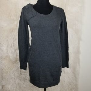 Rebecca Taylor button back WOOL sweater size Small